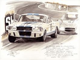 Прикрепленное изображение: 1967 Le Mans Ford Mustang Shelby, C.Dubois.C.Tuerlinckx - Nikolas Cancelier.jpg