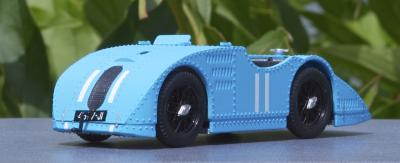 Прикрепленное изображение: 1923 Bugatti Tipo 32 Tank G.P. Francia №11 Pierre De Vizcaya - Brumm - R467B - 1.jpg