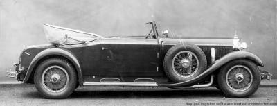Прикрепленное изображение: Mercedes-Benz Typ 770, 150-200 PS, Großer Mercedes, Cabriolet C,  Bauzeit 1930 bis1938.jpg