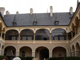 Прикрепленное изображение: 684 Внутренний двор в Жлебах.JPG