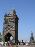 Прикрепленное изображение: 196 - Прага. Староместская башня Карлова моста.JPG