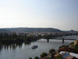 Прикрепленное изображение: 228 - Прага. Вид на Влтаву с Вышеграда.JPG