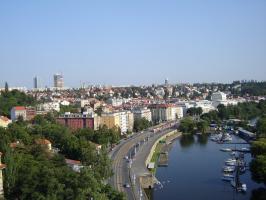 Прикрепленное изображение: 231 - Прага. Вид на Влтаву с Вышеграда.JPG