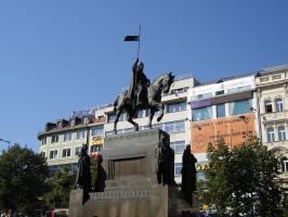 Прикрепленное изображение: 014 - Прага. Скульптура св. Вацлава.JPG
