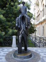 Прикрепленное изображение: 654 Памятник Фр. Кафке.JPG
