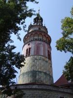 Прикрепленное изображение: 290 - Чешский Крумлов. Замковая башня.JPG