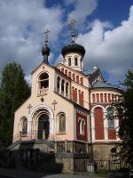 Прикрепленное изображение: 350 - Марианские Лазни. Церковь св. Владимира.JPG