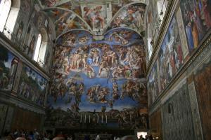 Прикрепленное изображение: IMG_ 034 - Музеи Ватикана. Сикстинская капелла.jpg