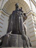 Прикрепленное изображение: 644 - Прага. Статуя Реббе Лёва на углу ратуши.JPG