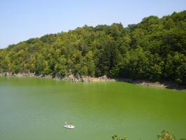 Прикрепленное изображение: 332 - Орлик. Вид на водохранилище.JPG