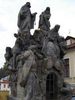 Прикрепленное изображение: 193 - Прага. Карлов мост, Иван и турок.JPG