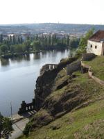 Прикрепленное изображение: 229 - Прага. Вид на развалины крепости с Вышеграда.JPG
