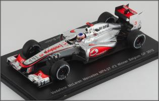 Прикрепленное изображение: 2012 McLaren Mercedes MP4-27 No3 Winner Belgium GP J.Button - Spark - S3046 - 1_small.jpg
