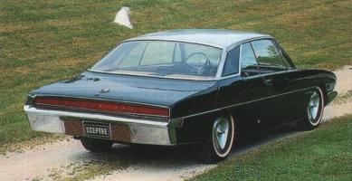 Прикрепленное изображение: 1966 Studebacker Hawk Prototype Rear View.jpg