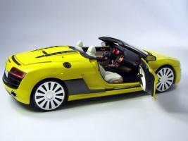 Прикрепленное изображение: Audi R8 V10 Spyder yellow 1 18 light LED lighting.jpg