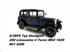 Прикрепленное изображение: 1929 Typ Stuttgart 200 Limousine 4 Turen W02 N1 AGM.JPG