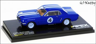 Прикрепленное изображение: 1965 Ford Mustang Norm Beechey Winner ATCC - Apex Replicas - AR0201 - 1_small.jpg