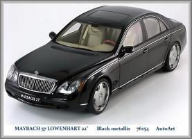 Прикрепленное изображение: Auto Art road cars Maybach 57 Lowenhart 22 wheels blackmetal.jpg