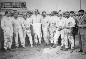 Прикрепленное изображение: Bentley Boys, Le Mans 1929.jpg