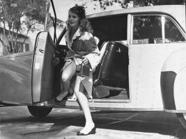 Прикрепленное изображение: Miss Rita Hayworth and her 1941 Lincoln Continental.jpg