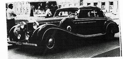 Прикрепленное изображение: Mercedes шахиншаха в Москве, сорок лет назад.jpg