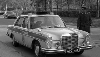 Прикрепленное изображение: Mercedes-Benz 280SE ГАИ г.Москва.jpg