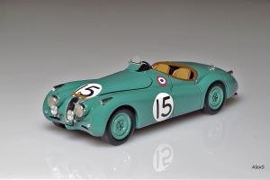 Прикрепленное изображение: Jaguar Le Mans 1950 XK120 #15 Spark S2115.jpg