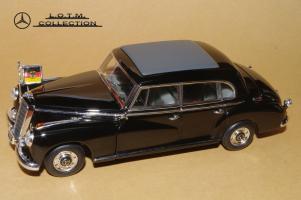 Прикрепленное изображение: 134. 1955 W186-III 300b Konrad Adenauer (Minichamps) (2).JPG