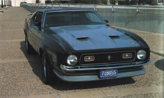 Прикрепленное изображение: `71 Ford Mustang Boss.jpg