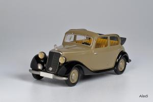 Прикрепленное изображение: Mercedes-Benz W136 1937 170 V Cabrio-Limousine 4-Turen Кузнецов 006 1.jpg