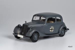 Прикрепленное изображение: Mercedes-Benz W136 1939 170 V Limousine 2-Turen Wehrmacht Кузнецов 005 1.jpg