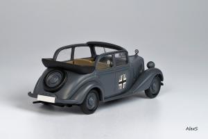 Прикрепленное изображение: Mercedes-Benz W136 1937 170 V Cabrio-Limousine 4-Turen Whermacht Кузнецов 008 2.jpg