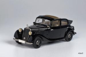 Прикрепленное изображение: Mercedes-Benz W136 1937 170 V Cabrio-Limousine 4-Turen Taxi Кузнецов 007 1.jpg