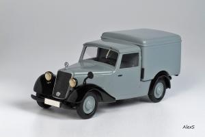 Прикрепленное изображение: Mercedes-Benz W136 1946 170 V Kasten-Lieferwagen Hagele Кузнецов 014 1.jpg
