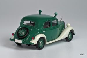 Прикрепленное изображение: Mercedes-Benz W136 1950 170 Da Limousine 4-Turen Polizei Кузнецов 020 2.jpg