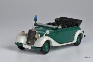 Прикрепленное изображение: Mercedes-Benz W136 1951 170 Da Polizei - Tourenwagen (OTP) Кузнецов 022 1.jpg