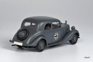 Прикрепленное изображение: Mercedes-Benz W136 1939 170 V Limousine 2-Turen Wehrmacht Кузнецов 005 2.jpg