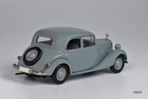 Прикрепленное изображение: Mercedes-Benz W136 1947 170 V Limousine 4-Turen Кузнецов 018 2.jpg