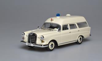 Прикрепленное изображение: 200 D W110 Binz Ambulance 1965. IXO.jpg