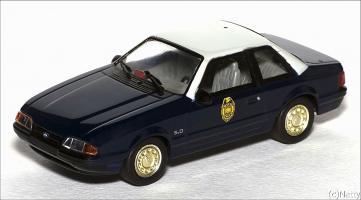 Прикрепленное изображение: 1991 Ford Mustang LX 5.0L SSP Kansas Highway Patrol - White Rose Collectibles - DEDGM99107WIN - 1_small.jpg