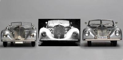 Прикрепленное изображение: 1935Merc-Benz 540K W29compWithReal.jpg