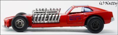 Прикрепленное изображение: 1969 Ford Mustang Mach IV Gary Weckesser Dragster - Politoys Polistil - M.27 - 9_small.jpg