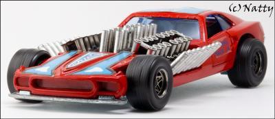 Прикрепленное изображение: 1969 Ford Mustang Mach IV Gary Weckesser Dragster - Politoys Polistil - M.27 - 10_small.jpg