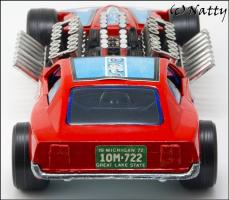 Прикрепленное изображение: 1969 Ford Mustang Mach IV Gary Weckesser Dragster - Politoys Polistil - M.27 - 12_small.jpg