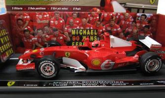 Прикрепленное изображение: M Schumacher Ferrari 248 F1 Formula 1 2006 Winner (2).jpg