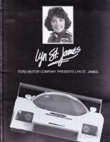 Прикрепленное изображение: 1986 Lyn St. James Ford Motorsport IMSA GTP Press Kit.jpg