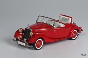 Прикрепленное изображение: Mercedes-Benz W136 1937 170 V Roadster William Clark Gable Autos Кузнецов 048 1.jpg