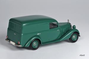 Прикрепленное изображение: Mercedes-Benz W136 1949 170 V Kasten-Lieferwagen 4-Turen Aufbau Hagele Кузнецов 053 2.jpg