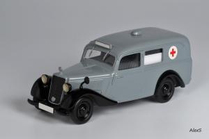 Прикрепленное изображение: Mercedes-Benz W136 1948 170 V Krankenwagen Aufbau Lueg Кузнецов 041 1.jpg