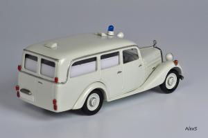 Прикрепленное изображение: Mercedes-Benz W136 1952 170 Vb Krankenwagen Aufbau Miesen Кузнецов 042 2.jpg